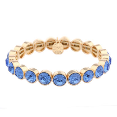 jcpenney.com | Monet Jewelry Womens Blue Stretch Bracelet