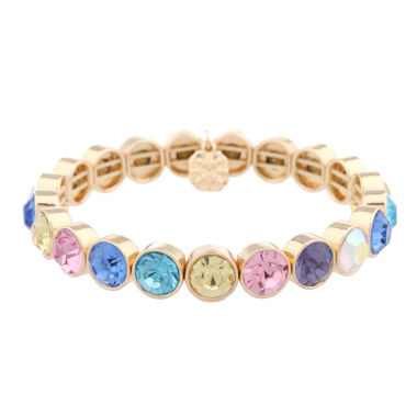 jcpenney.com | Monet Jewelry Womens Multi Color Stretch Bracelet