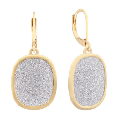 jcpenney.com | Monet Jewelry Silver and GoldTone Drop Earrings