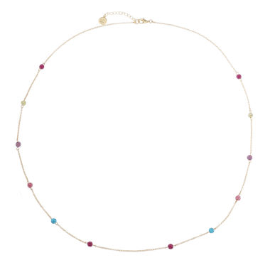 jcpenney.com | Liz Claiborne Long Ball Necklace Multi Goldtone