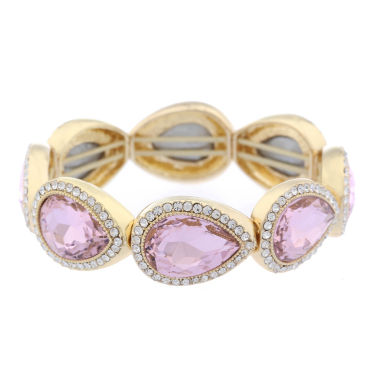 jcpenney.com | Monet Jewelry Womens Pink Stretch Bracelet