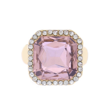 jcpenney.com | Monet Jewelry Womens Pink And Goldtone Stretch Ring