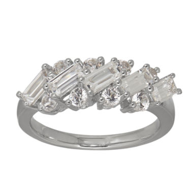 jcpenney.com | Womens White Sapphire Sterling Silver Cocktail Ring