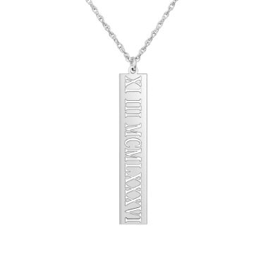 jcpenney.com | Personalized Roman Numeral Date Pendant