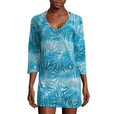 jcpenney.com | a.n.a Long Sleeve Ombre Tunic