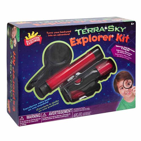Scientific Explorer Terra Sky Explorer Kit 4-pc. Discovery Toy