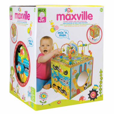 jcpenney.com | Alex Toys Alex Jr Maxville Wooden Activity Cube Interactive Toy