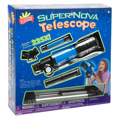 Scientific Explorer Supernova Telescope 13-pc. Discovery Toy