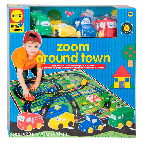 Alex Toys Little Hands Zoom Around Town 5-pc. Discovery Toy