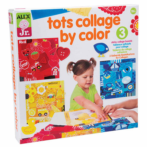 Alex Toys Alex Jr Tots Collage By Color Discovery Toy