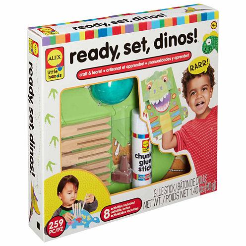 Alex Toys Little Hands Ready Set Dinos Interactive Toy