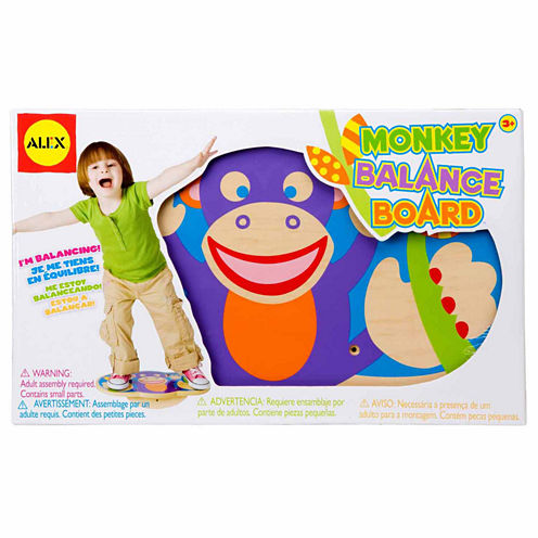 Alex Toys Active Play Monkey Balance Board 10-pc. Interactive Toy