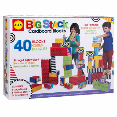 jcpenney.com | Alex Toys Big Stack Cardboard Blocks 40-pc. Discovery Toy