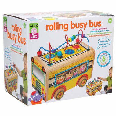 jcpenney.com | Alex Toys Alex Jr Rolling Busy Bus Interactive Toy