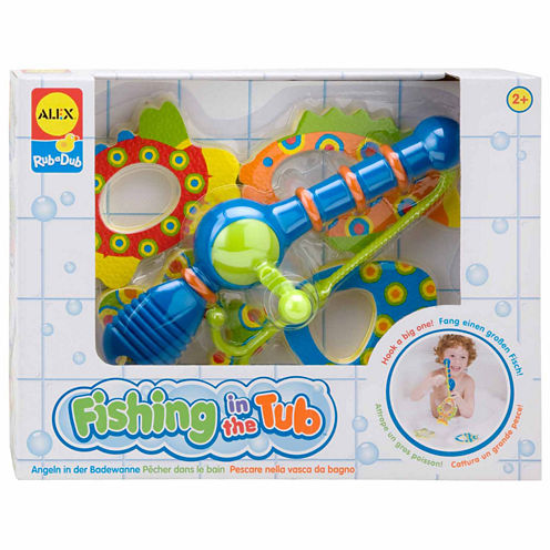 ALEX TOYS Rub A Dub Fishing In The Tub 4-pc. Toy Playset - Unisex