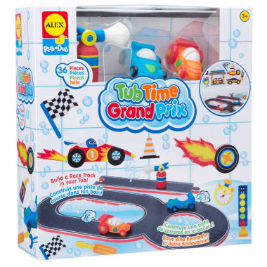 jcpenney.com | Alex Toys Rub A Dub Tub Time Grand Prix 36-pc. Toy Playset