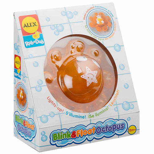 Alex Toys Rub A Dub Blink And Float Octopus Toy Playset