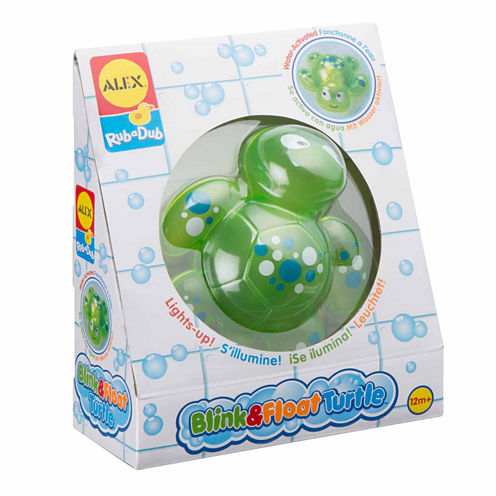 Alex Toys Rub A Dub Blink And Float Turtle Toy Playset