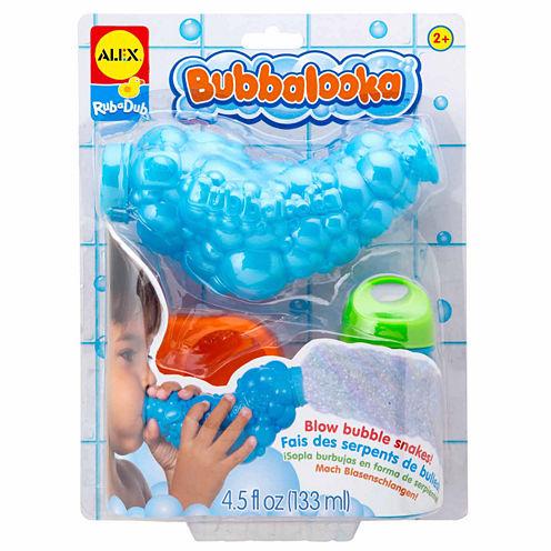 Alex Toys Rub A Dub Bubbalooka Bubble Snake Blower 3-pc. Toy Playset