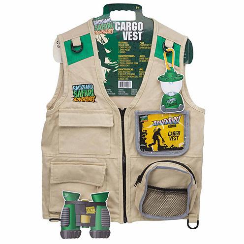 Backyard Safari Cargo Vest Dress Up Costume Unisex