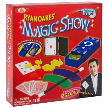 jcpenney.com | Ideal Ryan Oakes 25 Trick Magic Show 18-pc. Dress Up Accessory