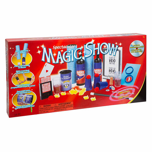 Ideal 100 Trick Spectacular Magic Show Dress Up Accessory