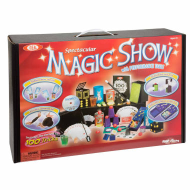 jcpenney.com | Ideal 100 Trick Spectacular Magic Show Suitcase 12-pc. Dress Up Accessory