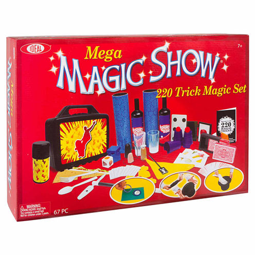 Ideal Mega Magic Show Kit 12-pc. Dress Up Accessory