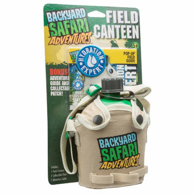 jcpenney.com | Backyard Safari Field Canteen 3-pc. Dress Up Accessory