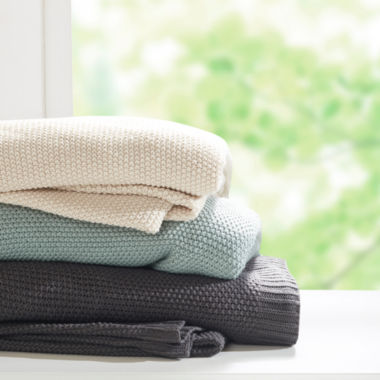 jcpenney.com | INK+IVY Bree Knit Blanket