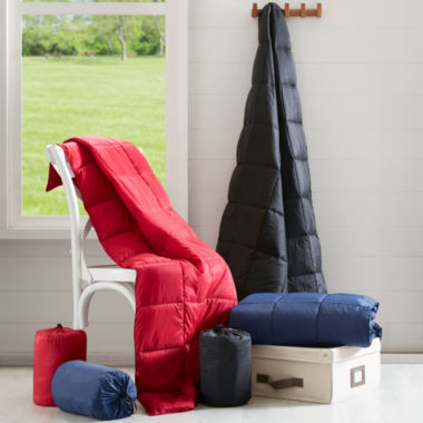 jcpenney.com | Premier Comfort Packable Down Alternative Throw