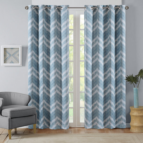 Nara Blackout Grommet Top Curtain Panel Jcpenney