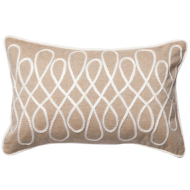 jcpenney.com | Rectangle Bette Cotton Chambray Decorative Throw Pillow