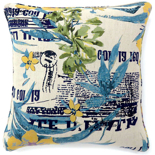Dewford Large Poly Decorative Square Throw Pillow