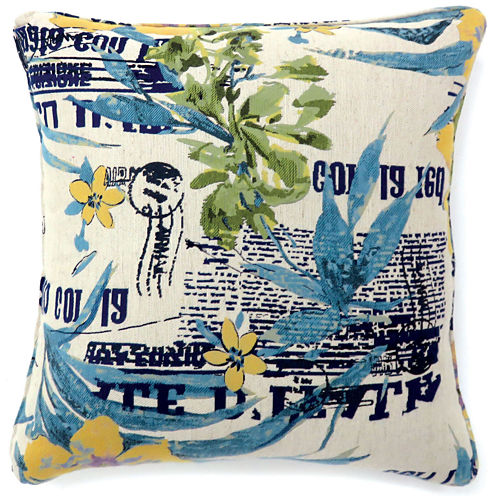 Dewford Small Poly Decorative Square Throw Pillow