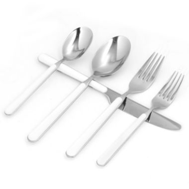 jcpenney.com | Red Vanilla 20-pc. Flatware Set