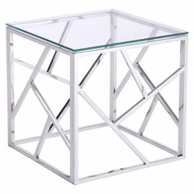 jcpenney.com | Zuo Modern Cage Stainless Steel End Table