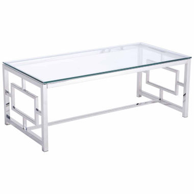 jcpenney.com | Zuo Modern Geranium Stainless Steel Coffee Table