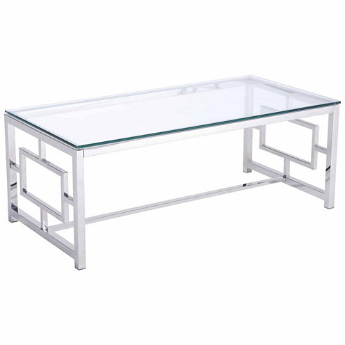 Zuo Modern Geranium Stainless Steel Coffee Table