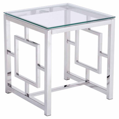 jcpenney.com | Zuo Modern Geranium Stainless Steel End Table