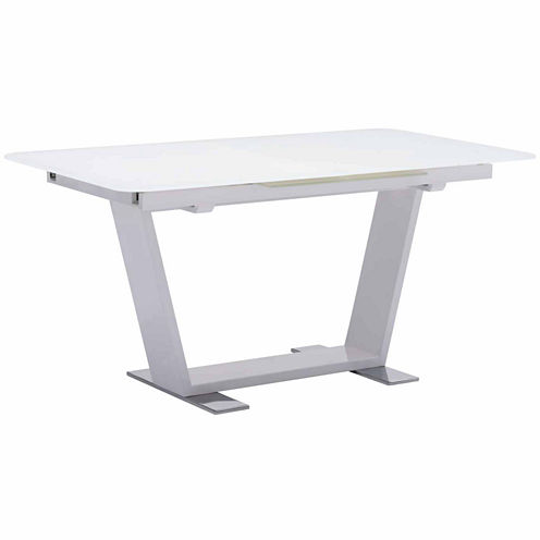 Zuo Modern St Charles Extension Rectangular Dining Table
