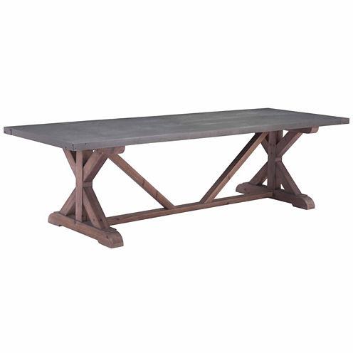 Zuo Modern Durham Rectangular Dining Table