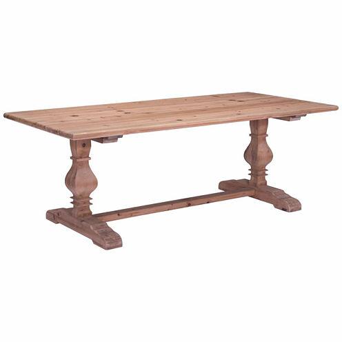 Zuo Modern Norfolk Rectangular Dining Table