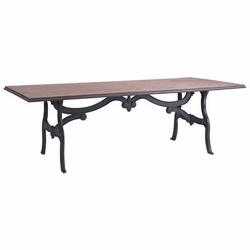 Zuo Modern Bellevue Rectangular Dining Table