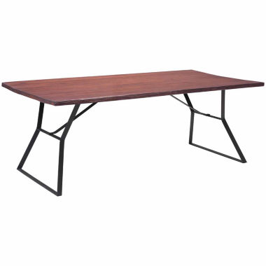 jcpenney.com | Zuo Modern Omaha Rectangle Dining Table