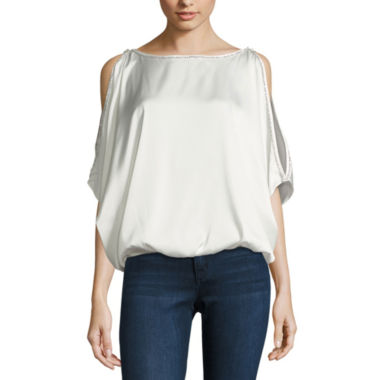 jcpenney.com | Nicole By Nicole Miller Stud Trim Top