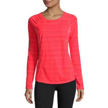jcpenney.com | Xersion Long Sleeve Scoop Neck T-Shirt-Talls