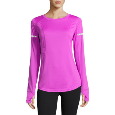 jcpenney.com | Xersion Long Sleeve Crew Neck T-Shirt-Talls