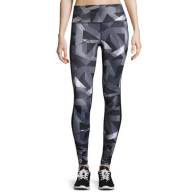 jcpenney.com | Xersion™  Jersey Print Front Leggings