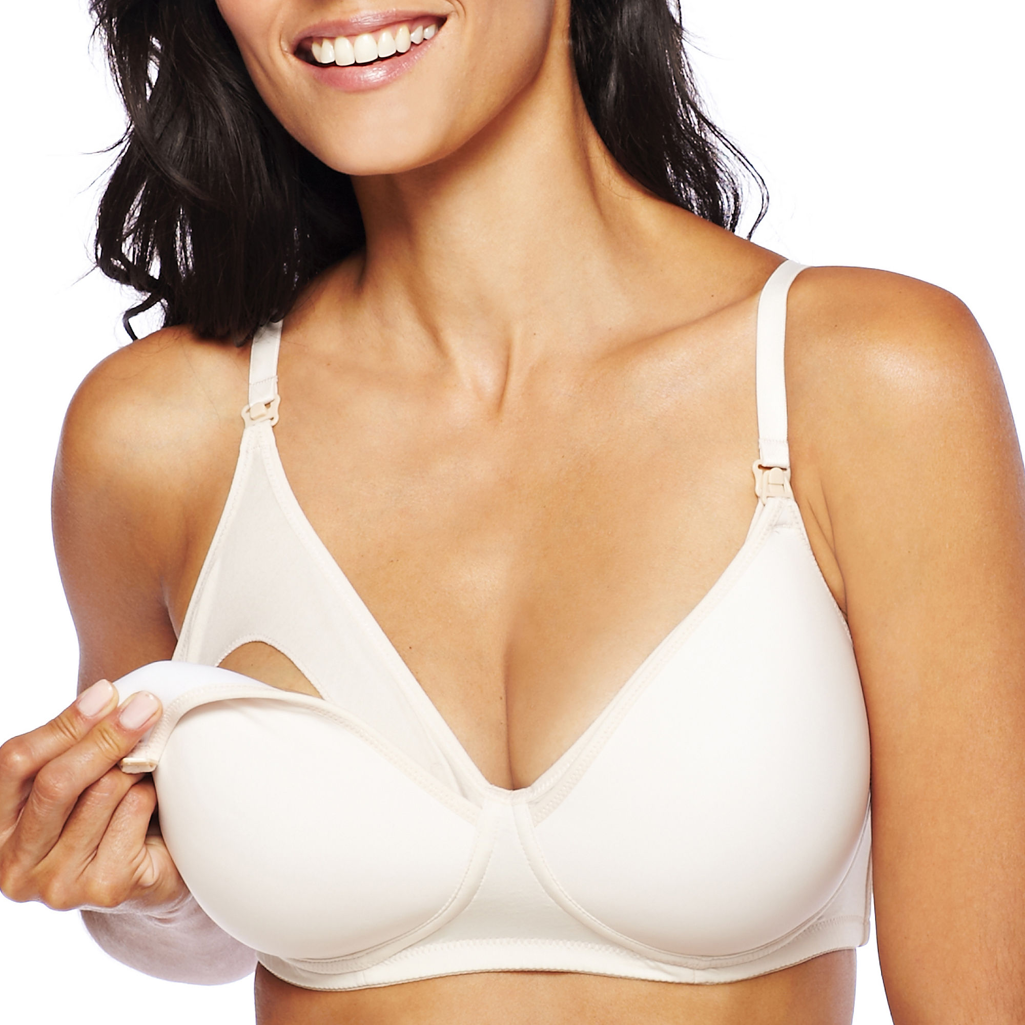 Spencer Microfiber Wireless Padded Nursing Bra plus size,  plus size fashion plus size appare